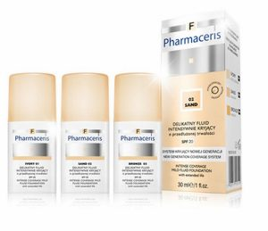 Pharmacetis F Intense Coverage Mild Fluid Foundation SPF20